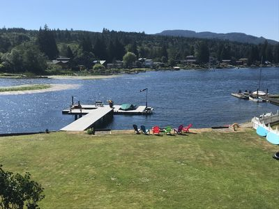 A breezy, warm summer day on Lake Samish
