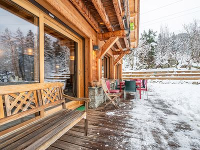 Photo for Chalet Les Bossons - Luminous with Mont Blanc view