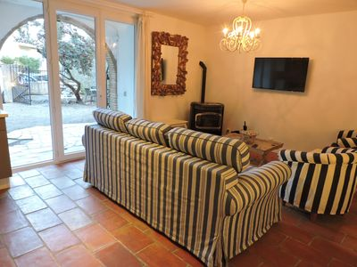 Photo for Charming Village house with Garden in the medieval Village of La Garde Freinet.