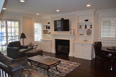 Living room - upper level - 50in HD TV, surround sound
