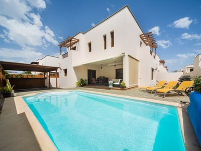 Photo for HOLIDAY VILLA CLOSE TO THE SEA IN THE SAFEST AREA OF LANZAROTE