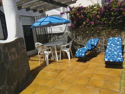 Photo for Little house in Costacabana beach, Almería