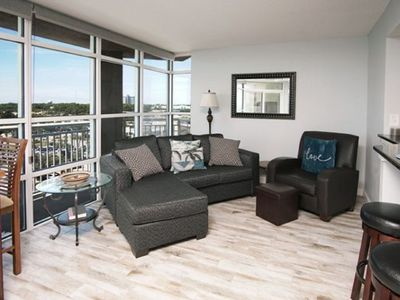 Carolinian Resort 836, Beautiful 2 BR Ocean View Condo with Outdoor Pool, Hot Tub, Lazy River and Kiddie Pool