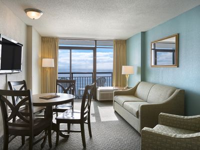Photo for Beautiful Oceanfront Landmark Suite w/ View + Official On-Site Rental Privileges
