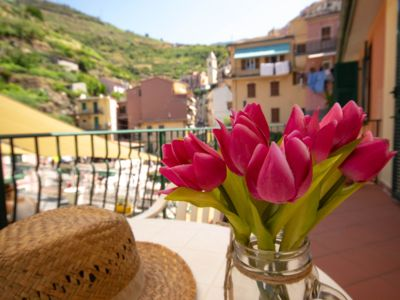 Photo for APARTMENT WITH TERRACE IN THE HEART OF THE CINQUE TERRE