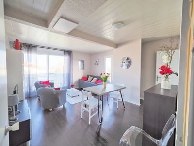 Photo for SUPERB T1 ST-JEAN-DE-LUZ, PARKING, BALCONY, QUIET, NIGHT VIEW AND GOLF
