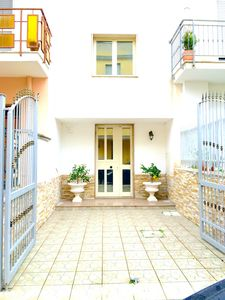Photo for For a group: 2 Large apartment near the sea with terraces and balcony
