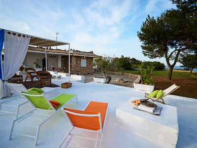 Photo for Villa Mediterranea – with direct access to the beach