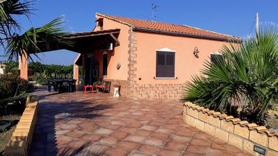 Photo for FREE WI-FI. ELEGANT INDEPENDENT VILLA WITH PRIVATE POOL SURROUNDED BY GREEN