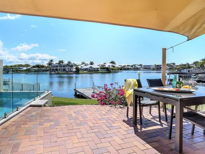 Photo for Modern waterfront home, walking distance to Noosa River, shops & cafes