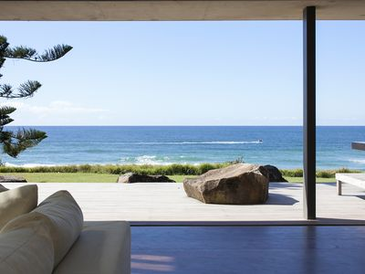 Photo for Malibu - Absolute beachfront luxury residence at Coolum with amazing beach views