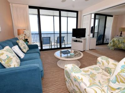 Photo for SUNDIAL ON SANIBEL  A406 ONE BEDROOM BEACHFRONT  PLUS $100+VIP BEACH RESORT DISCOUNTS
