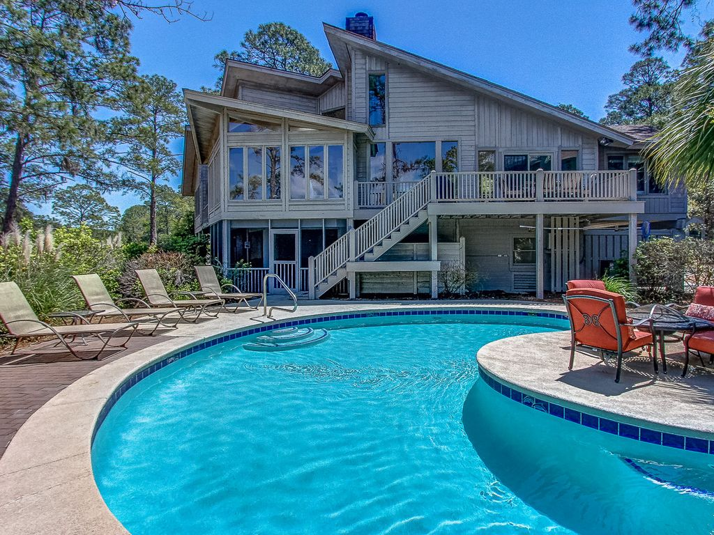 70 S Sea Pines Beautiful Views Of Braddock Cove And A