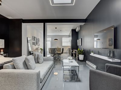 Photo for Beautiful Spacious Loft near Canal Lachine and metro station