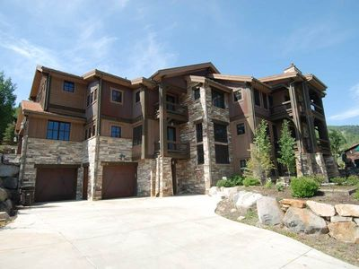 Photo for Exclusive Luxury Townhome In Deer Valley's Snow Park Area