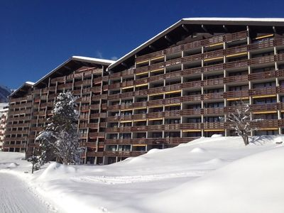 Photo for Apartment 326 m from the center of Disentis with Lift, Parking, Internet, Washing machine (333547)