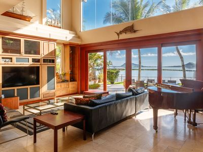 Photo for Sea Breeze Homes 2 homes, AC, Views of Beautiful Kaneohe Bay!