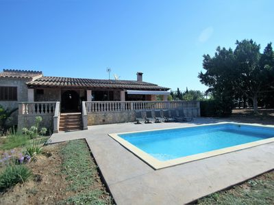 Photo for Available until 27/06!! SON PAX- Rustic Villa in Palma. Private pool. Clear Views - Free Wifi