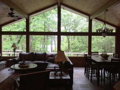 Photo for Waterfront - Winding Trail Lodge, Sleeps 6, Enjoy Amenities on Holly Lake Ranch