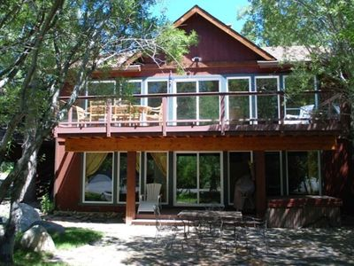 Gorgeous Home completely remodeled. Large decks,big windows, hot tub, & sauna.
