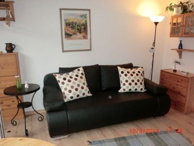Photo for Apartment 2 with terrace, 7 min. To the south beach / dog allowed, central location