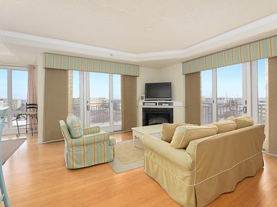 Photo for Spacious 3 Bedroom Condo in Highly Desired Rivendell Building With Pools & Gym!
