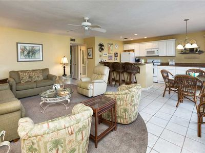 Photo for Unit K2: 2 BR / 2 BA partial gulf view in Sanibel, Sleeps 6