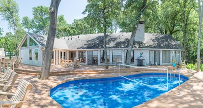 Pool party? The deck and pool are perfect spots for outdoor entertaining.