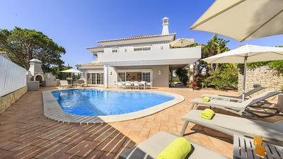 Photo for Vale do Lobo Villa, Sleeps 10 with Pool, Air Con and WiFi
