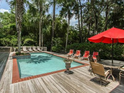 Photo for 3 Whistling Swan | Dog Friendly | 2 Minute Walk to Beach | Private Pool | Pool House w/ 2 bedrooms