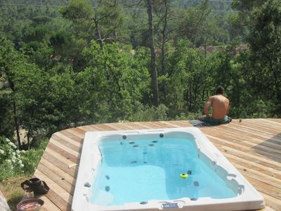 Photo for Bed and Breakfast SPA swimming near Cotiignac