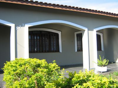 Photo for Excellent single storey house in Peruibe prox. to the beach and the city center.