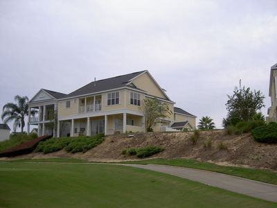 Photo for Superior 5 Bedroom Home, Private Pool, Outdoor Kitchen, Golf Views, Reunion