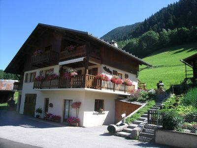 Photo for Appart ds cottage with terrace & panoramic view Arêches-in BEAUFORT SAVOIE