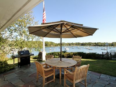 Photo for Waterfront- E Orleans! Panoramic Views, Dock, Central Air, Kayaks, Walk to Shop