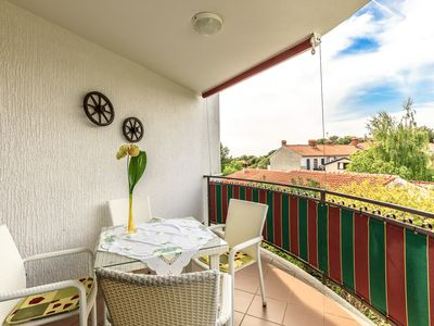 Photo for Apartment Brulo in Porec - fine apartment with sea views, climate, internet access