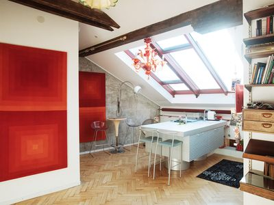 Photo for Luxury Art Loft  with Terrace  in the  Old Town
