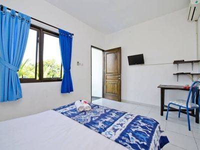 Photo for Canggu Studio Apartment, Near Shops and Restaurants, and Convenient Stores