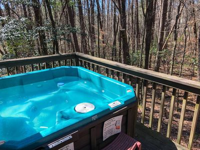 Photo for Close to Helen with Hot Tub, Wifi & firepit