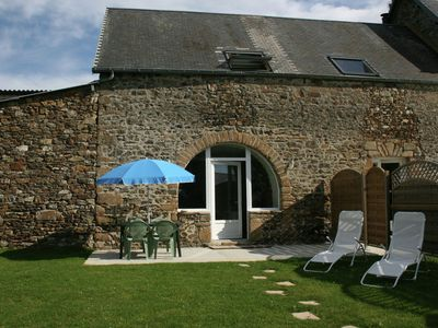 Photo for Holiday home in quiet location with garden, terrace and barbecue, near Coutances