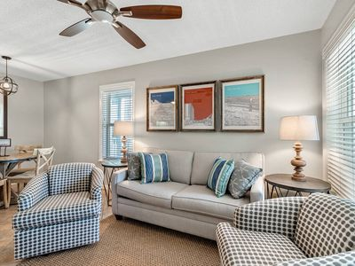 Photo for Updated and Stylish, Affordable Beachfront Condo