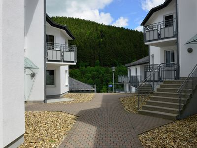 Photo for Modern holiday home on the first floor with balcony in the heart of Willingen