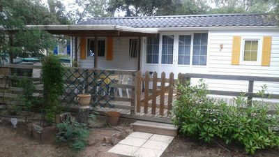 Photo for Mobile home in private domain 4 *