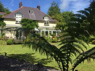 Photo for Luxury Country House In The Middle Of Laugharne With Spectacular Garden Views!