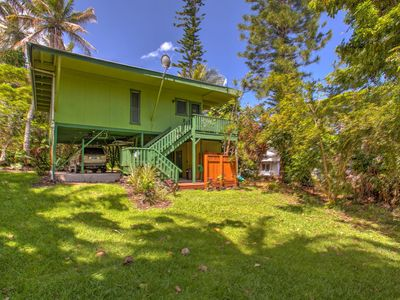 Photo for Kehena Treetop Bungalow - Minutes from the New Pohoiki Black Sand Beach!