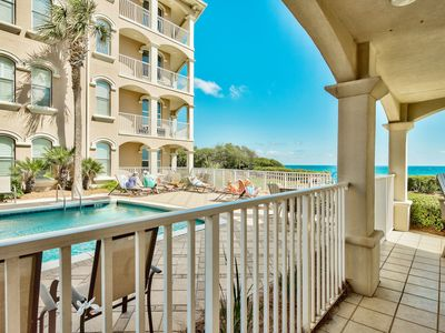 Photo for Gulf Front! Amazing Views! Community Pool & Close to Fantastic Dining!
