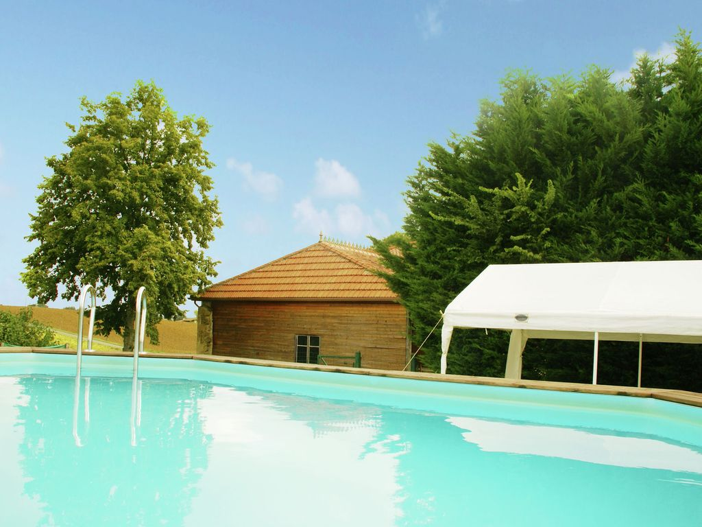 Beautiful Detached Holiday Villa With Private Swimming Pool In Southern France Pouylebon Gers