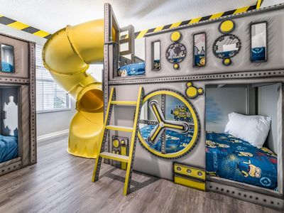 Photo for [New] Luxury Fun Home with Water Slide, Arcade/Theater, and Family Game Room
