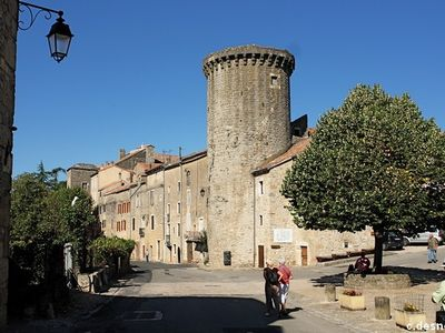 Photo for Village house in the heart of a fortified wall of the XVth century / Larzac /