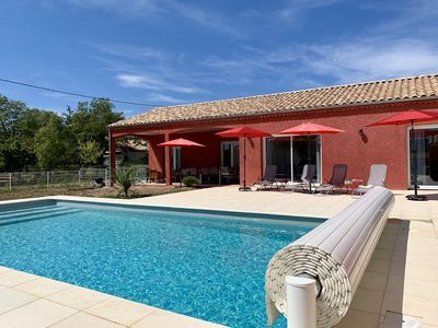 Photo for House with heated pool in Vallon Pont d'Arc